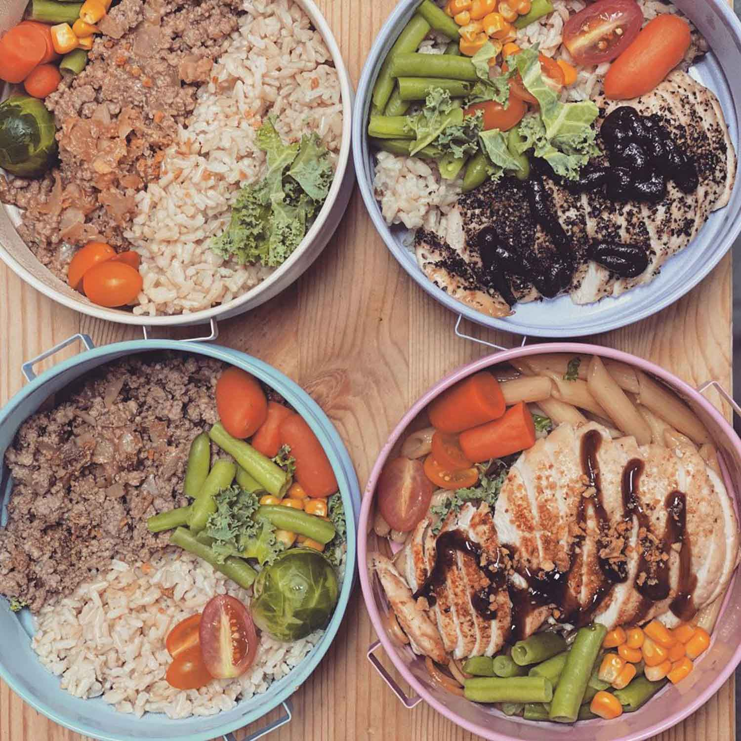 Healthy Food Delivery - Eat fit meal prep