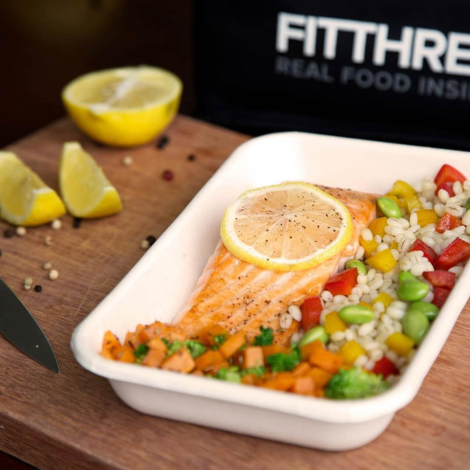 Healthy Food Delivery - FITTHREE