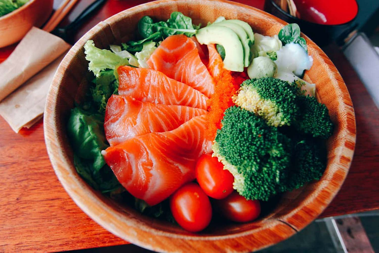 Healthy Food Delivery - Salmon Samurai