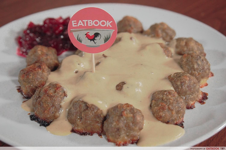IKEA Meatballs recipe - Meatballs final presentation