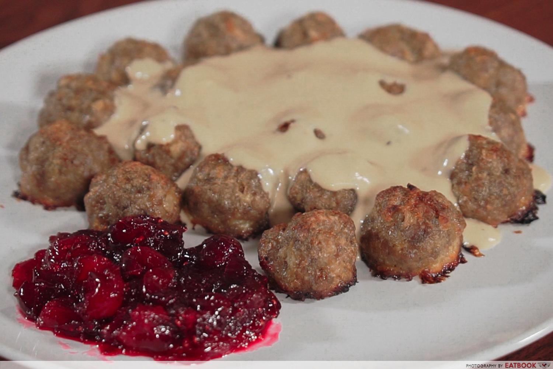 IKEA Meatballs recipe - Meatballs presentation
