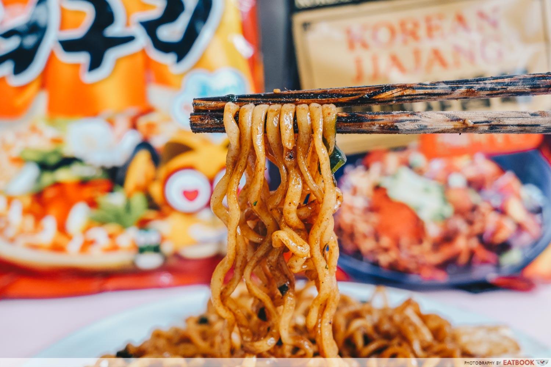 Instant Noodles Recipes - Mapo Tofu Ramen Close up