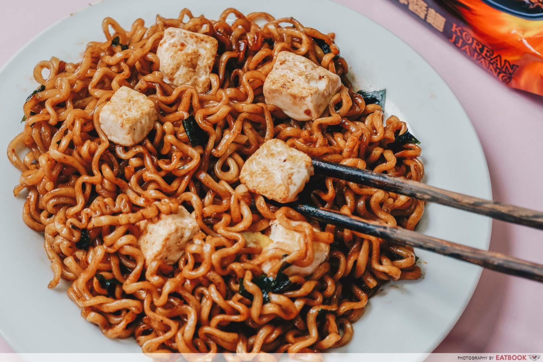 Instant Noodles Recipes - Mapo Tofu Ramen