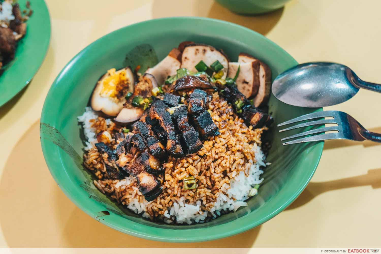 Kim Kitchen Braised Duck - Braised pork rice intro shot