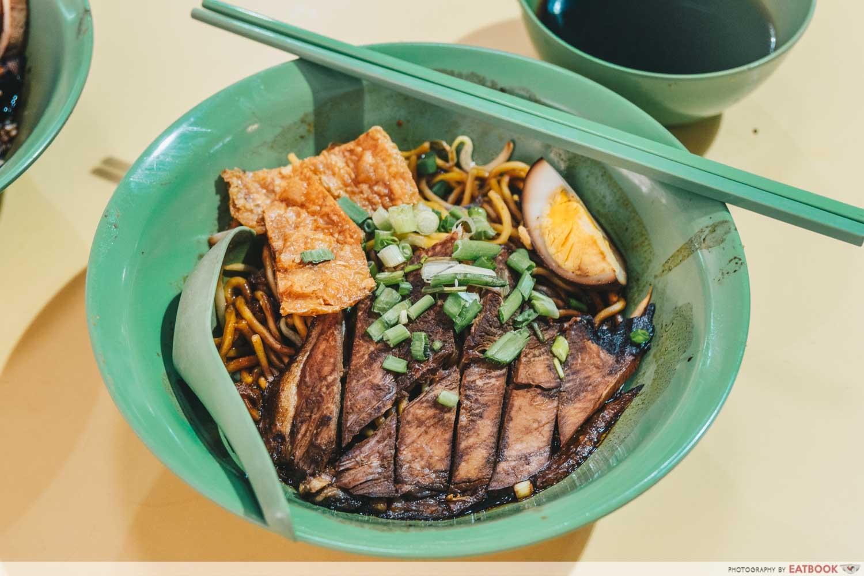 Kim Kitchen Braised Duck - Duck noodle intro shot