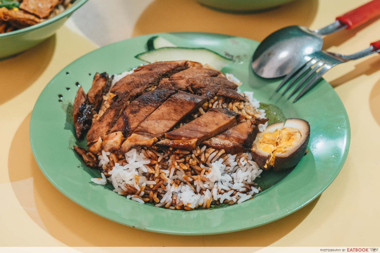 Kim Kitchen Braised Duck - Duck rice intro shot