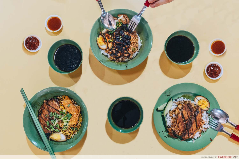 Kim Kitchen Braised Duck - Flatlay