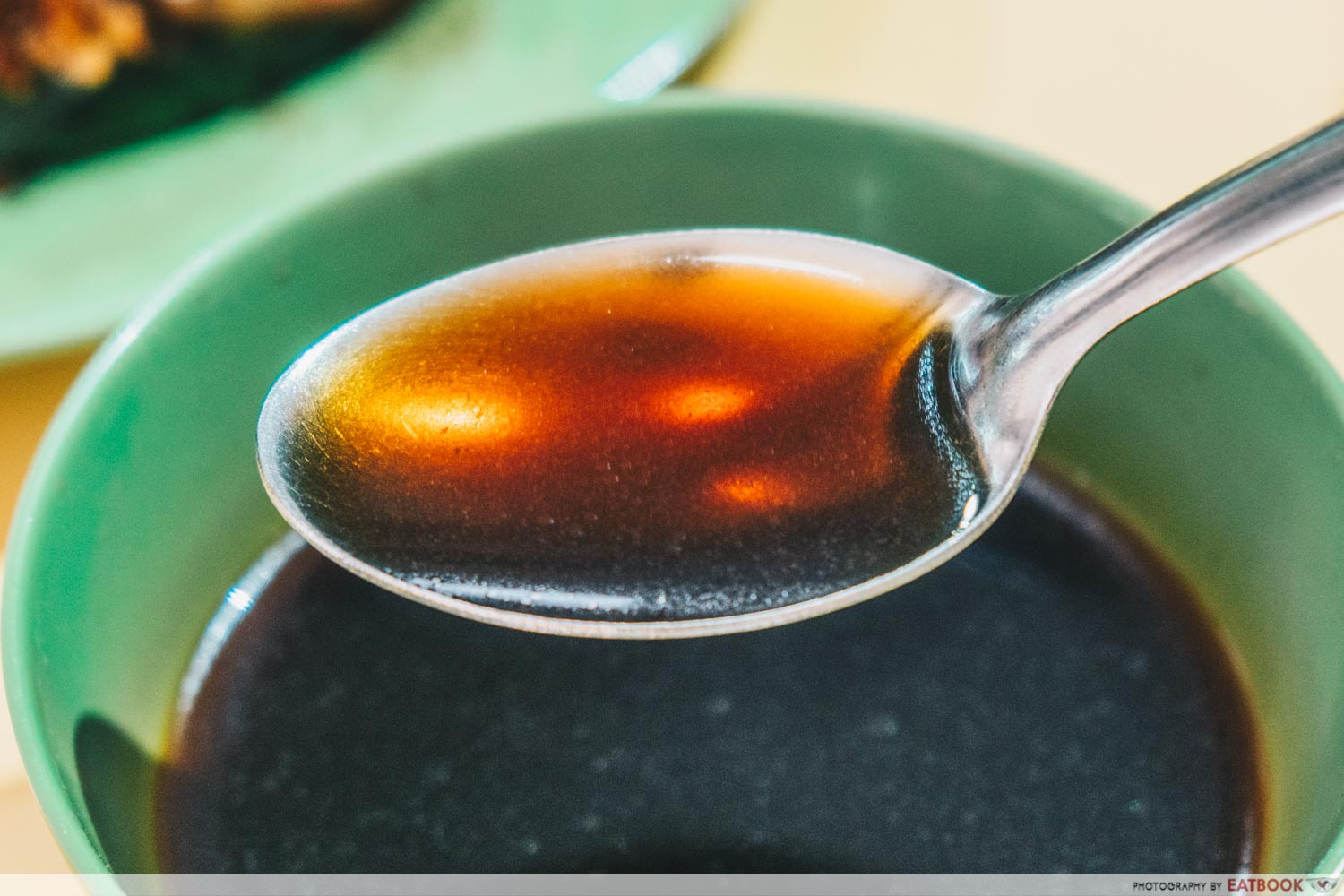 Kim Kitchen Braised Duck - Spoonful of herbal soup