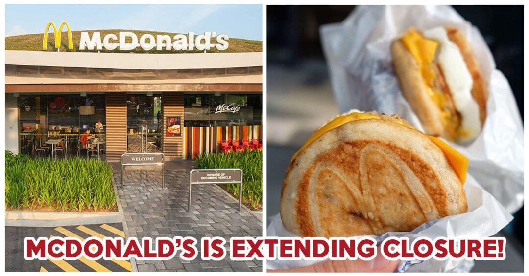 McDonald's Extending Closure - Feature Image