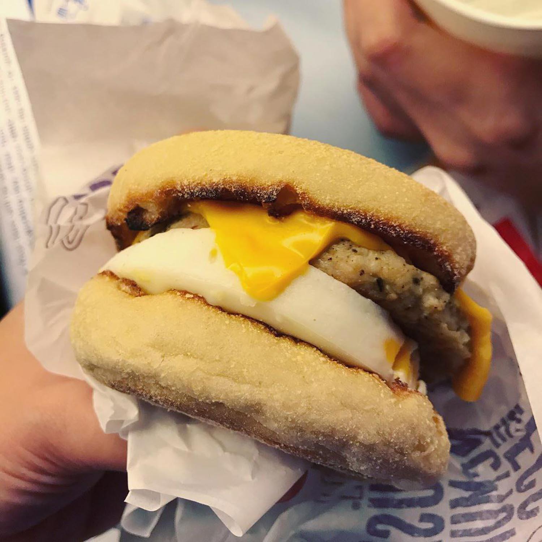 McDonald's Sausage & Egg McMuffin image 2