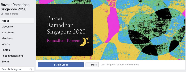 Online Ramadan Bazaars - Facebook group