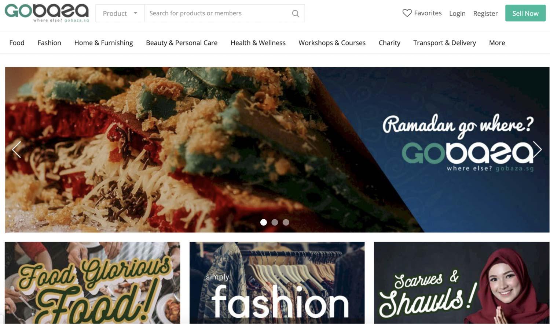 Online Ramadan Bazaars - Gobaza.sg
