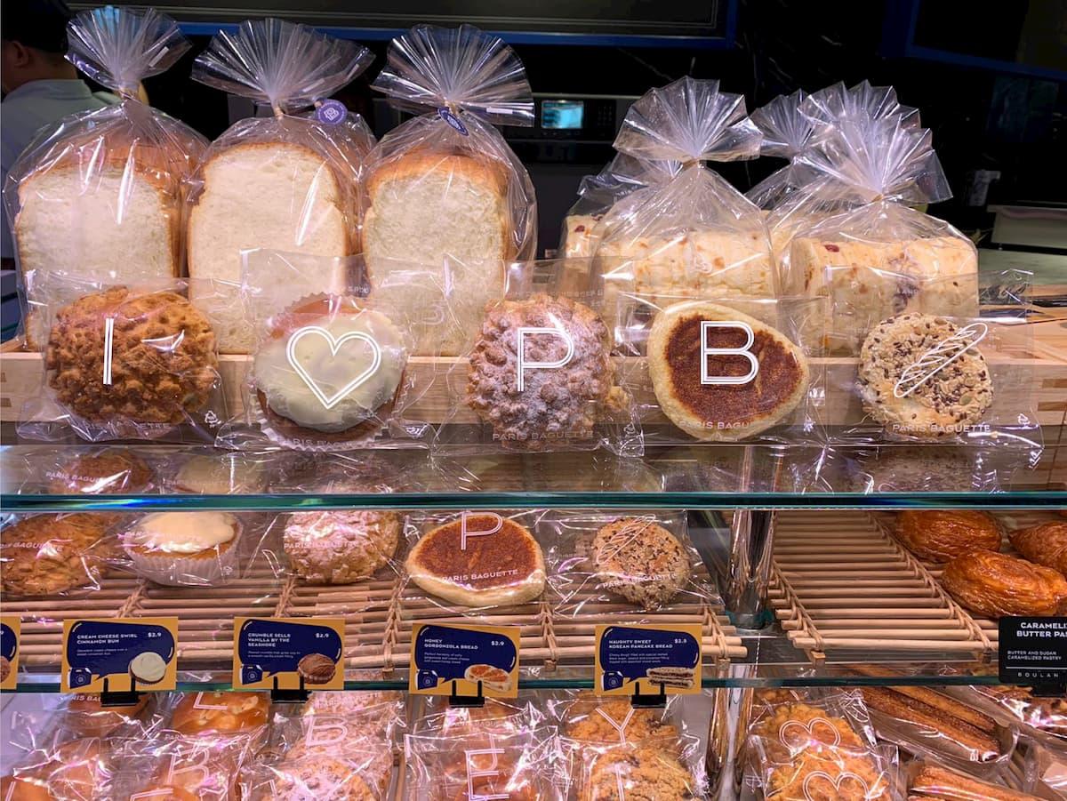 Paris Baguette Korean Soft Buns - Bread