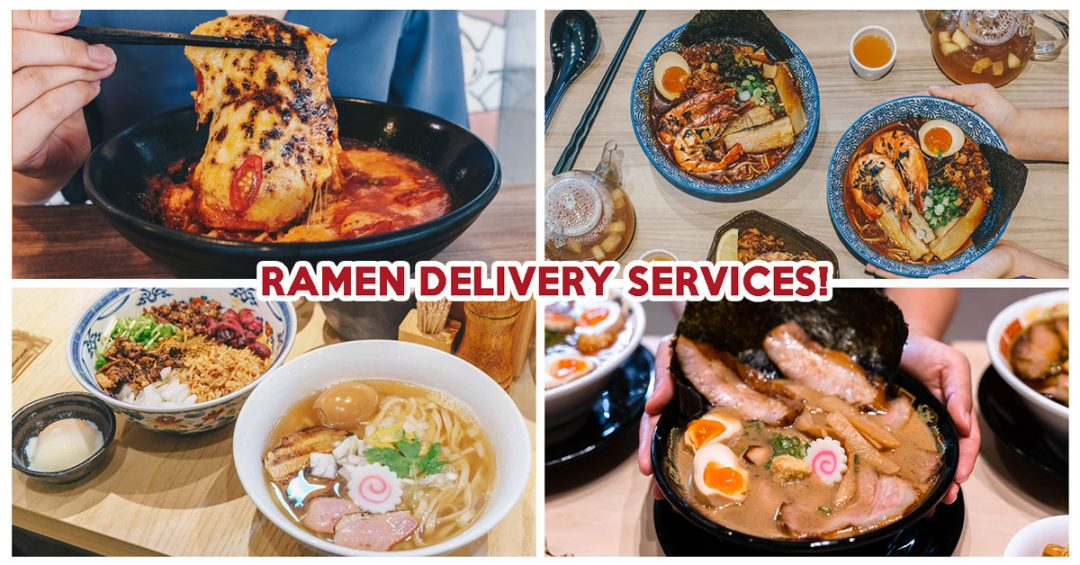 ramen delivery cover
