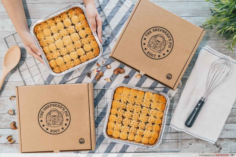 Shepherds Pie Delivery - flatlay
