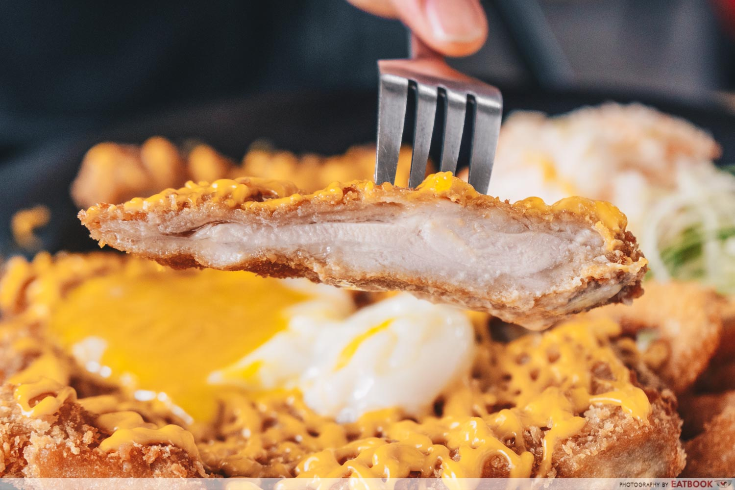 Skinny Chef - Cross-section of chicken cutlet
