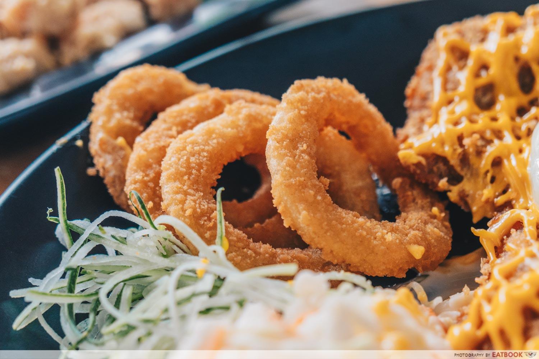 Skinny Chef - Onion rings