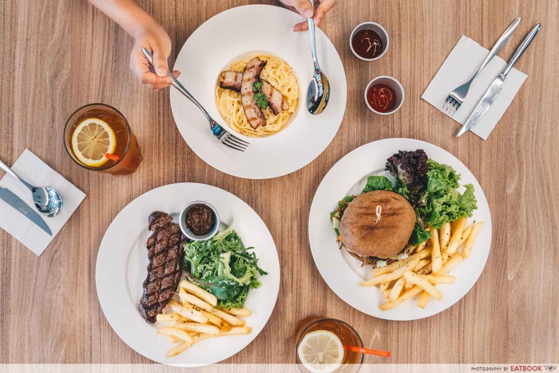 SteakGrill - Flatlay