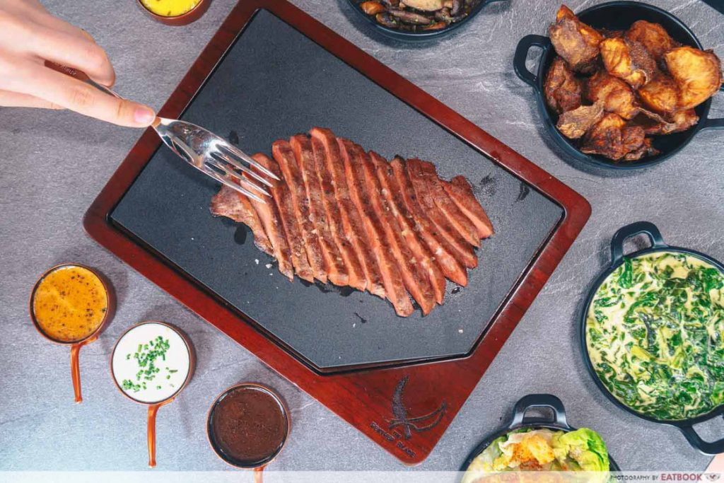 The Feather Blade 1-for-1 steak