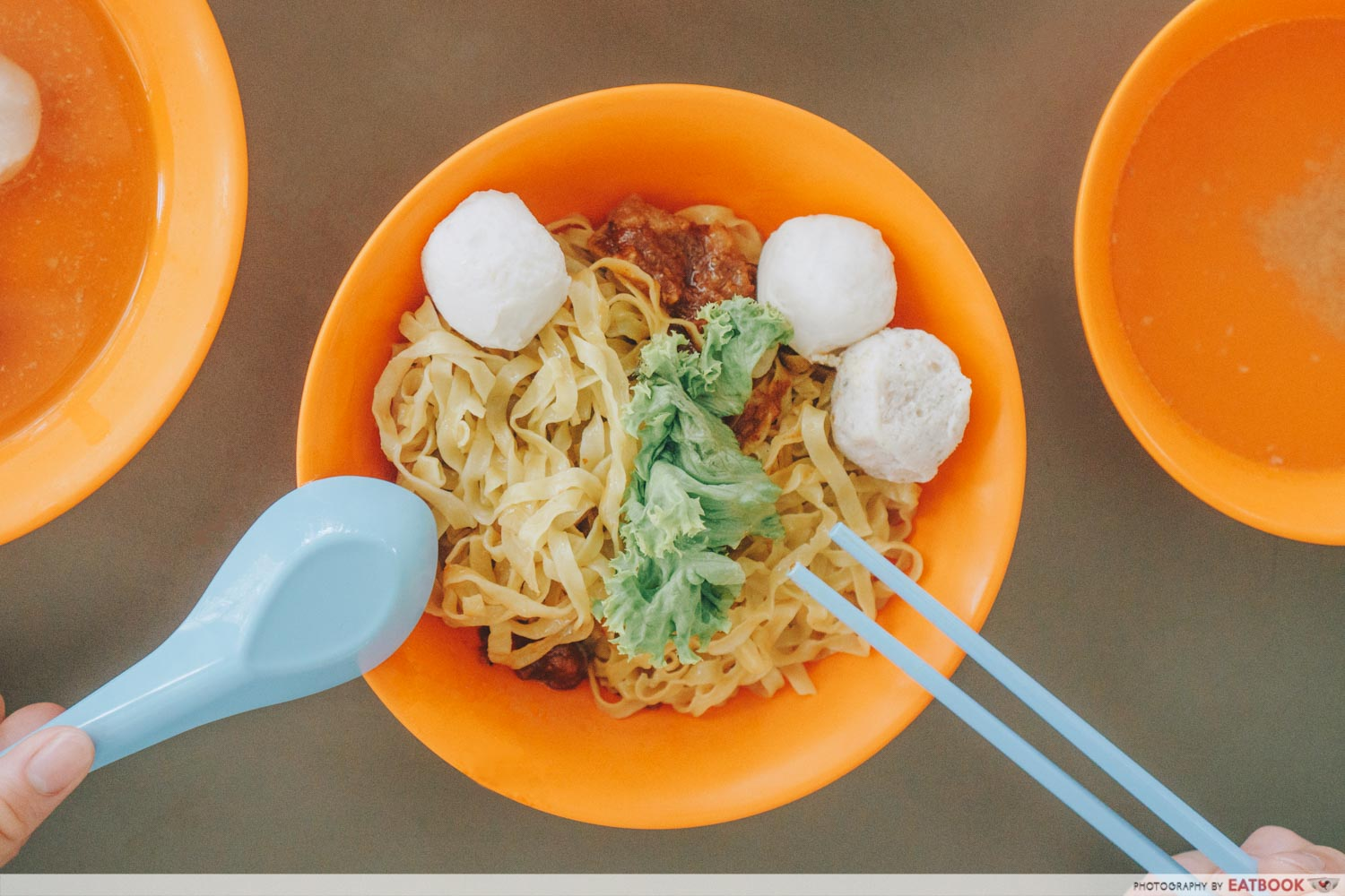 Yong Hua Delights - Fishball and meatball noodles intro shot