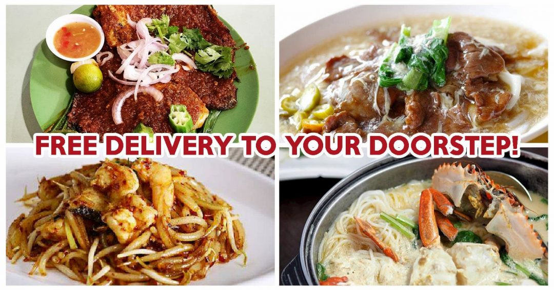 Zi Char Free Delivery - Feature Image