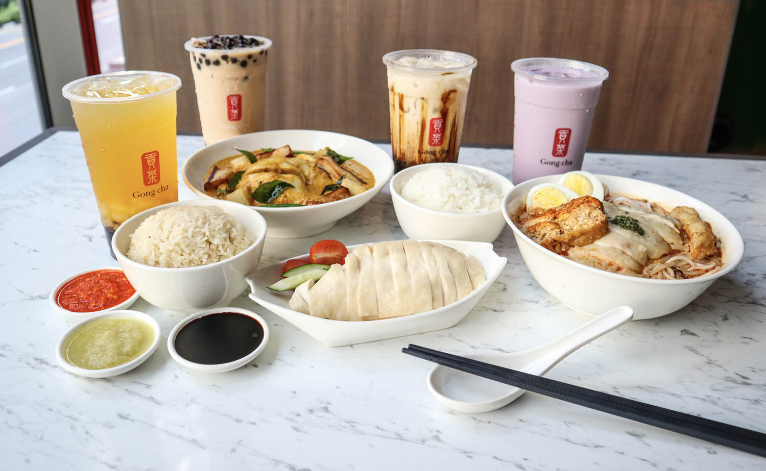 Gong Cha Delivery - Express by Chatterbox