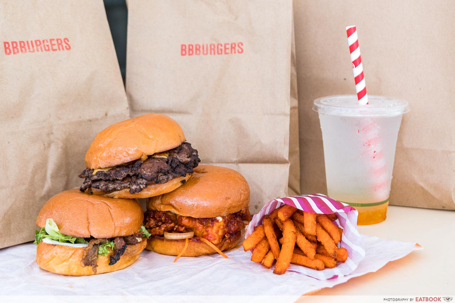Hawker burger delivery - bbburgers