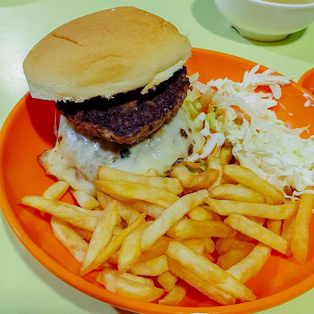 Hawker burger delivery - brostern