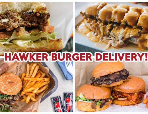 Hawker burger delivery - feature image