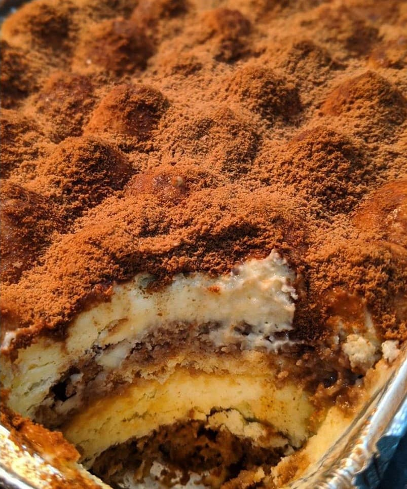 Milo Recipes - Milo Tiramisu Close up