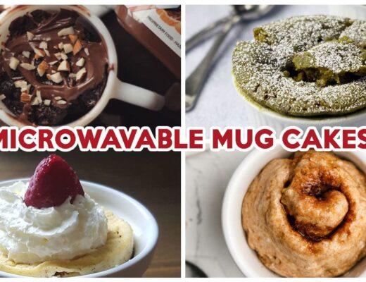 Mug Cake Recipes - Cover Image