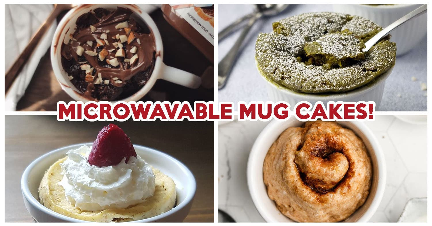 10 Microwavable Mug Cake Recipes Including Cheesecake Cinnamon Roll And Molten Lava Cake Eatbook Sg New Singapore Restaurant And Street Food Ideas Recommendations