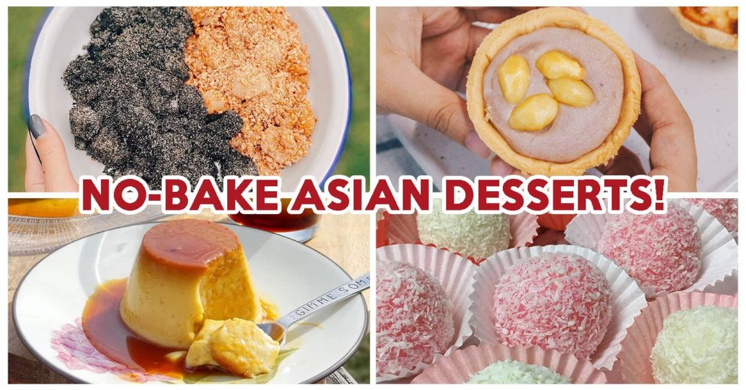 No-Bake Asian Desserts - Feature Image