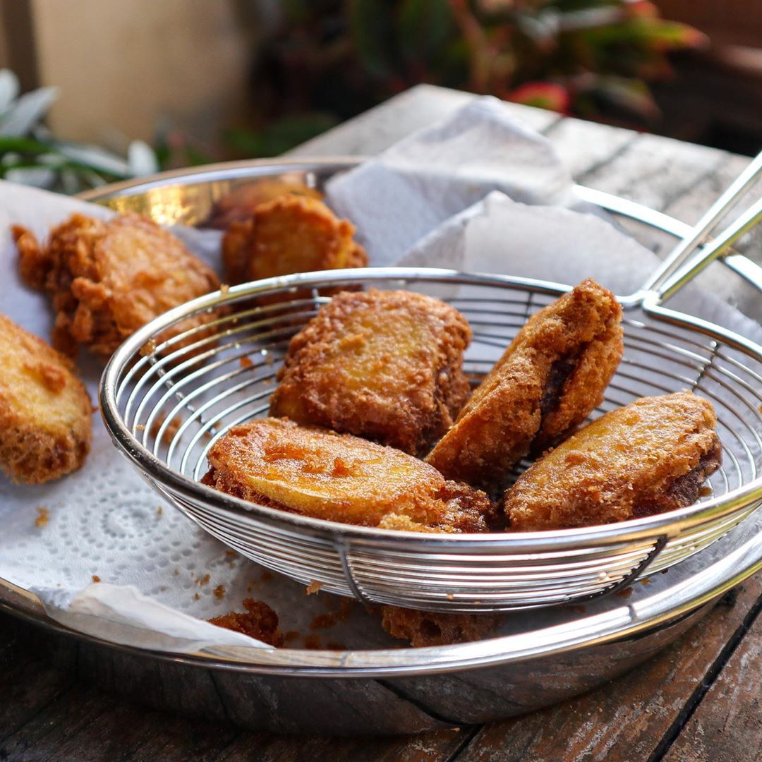 No-Bake Asian Desserts - Fried Nian Gao
