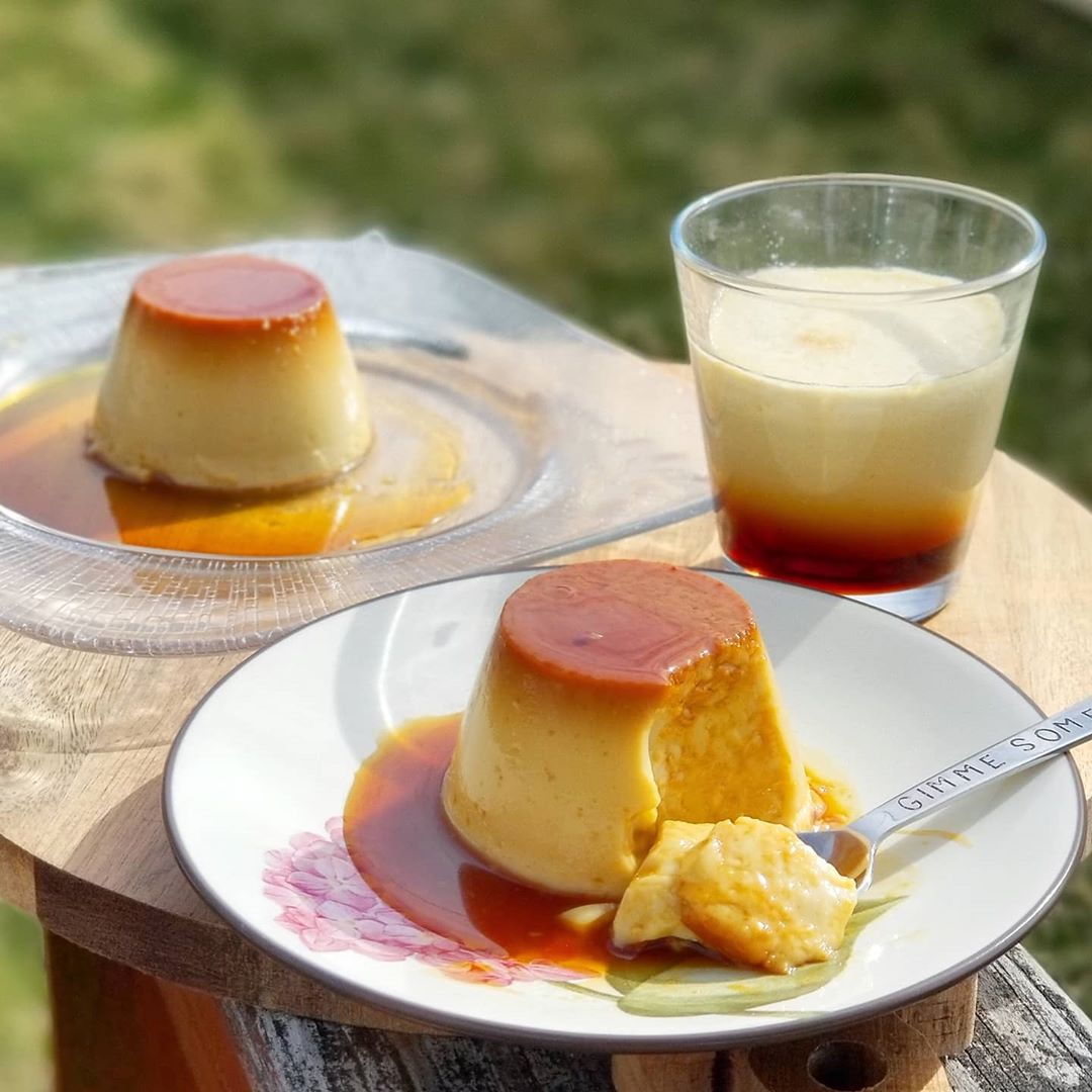 No-Bake Asian Desserts - Leche Flan pudding