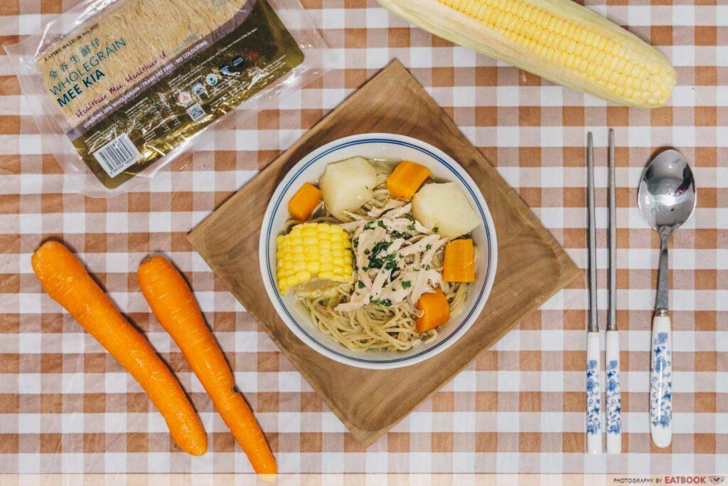 Rotisserie Chicken Noodle Soup Recipe dish