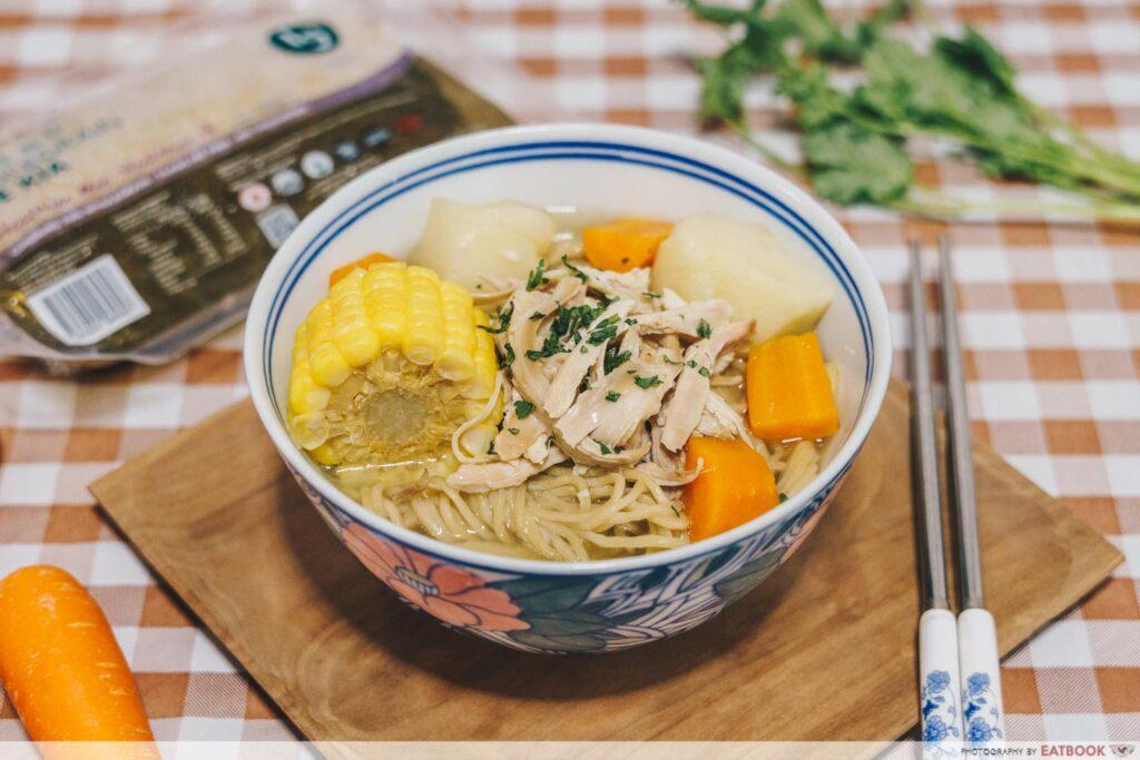 Rotisserie Chicken Noodle Soup Recipe dish 2