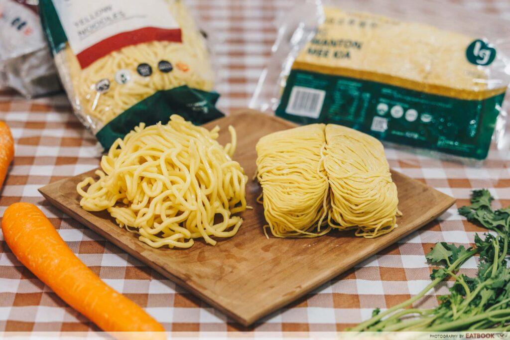 Rotisserie Chicken Noodle Soup Recipe yellow noodles