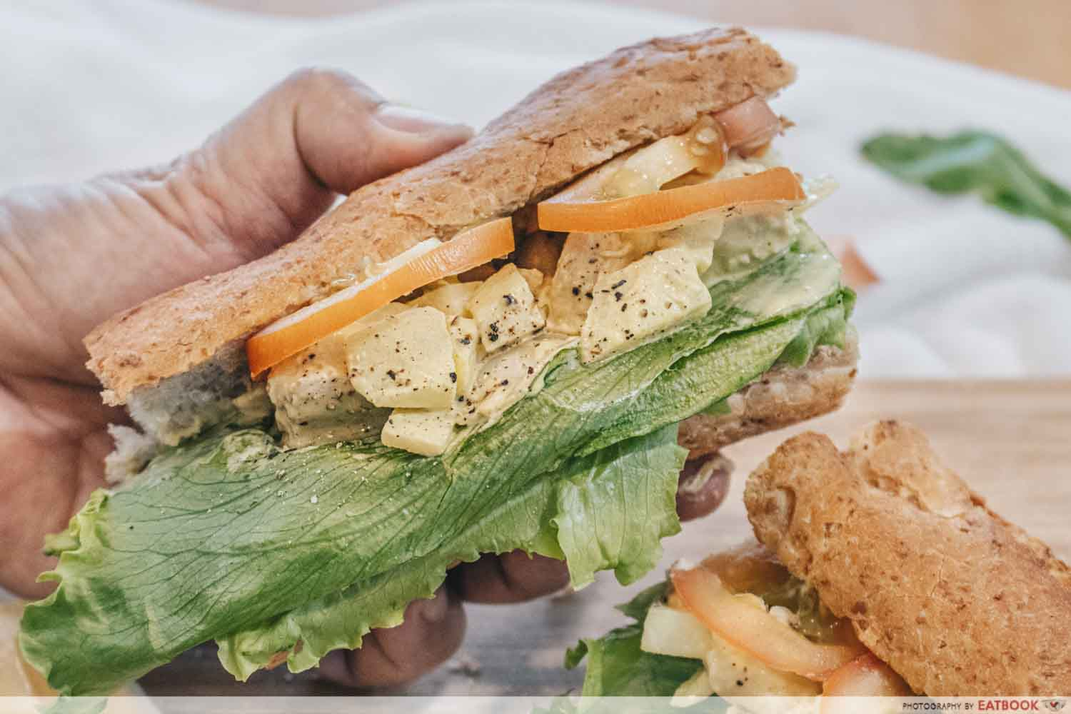 Sandwich Recipes - Chicken Salad Sandwich
