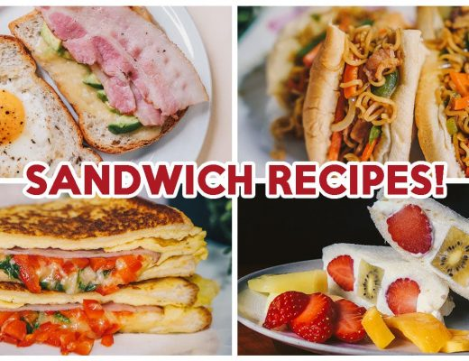 Sandwich Recipes - Feature Image