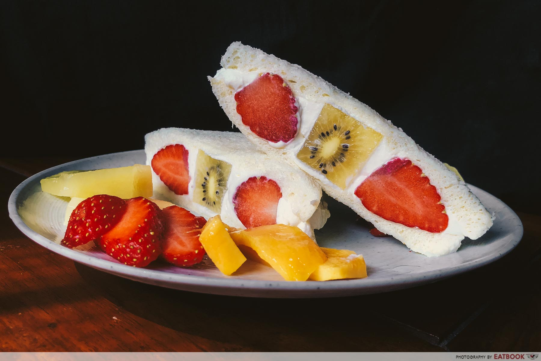 Sandwich Recipes - Japanese Fruit Sandwich