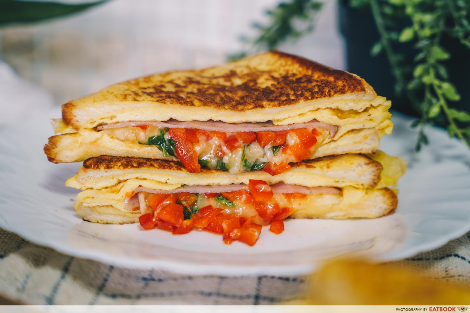 Sandwich Recipes - One-Pan Egg Sandwich