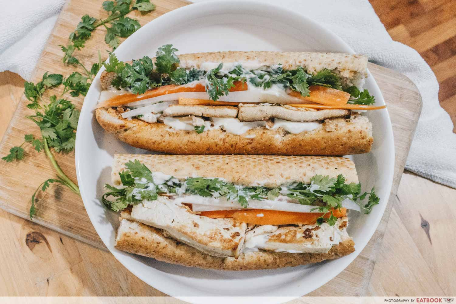 Sandwich Recipes - Tofu Banh Mi