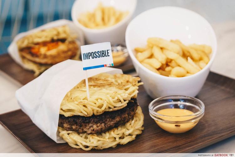 impossible meat online - ramen burger