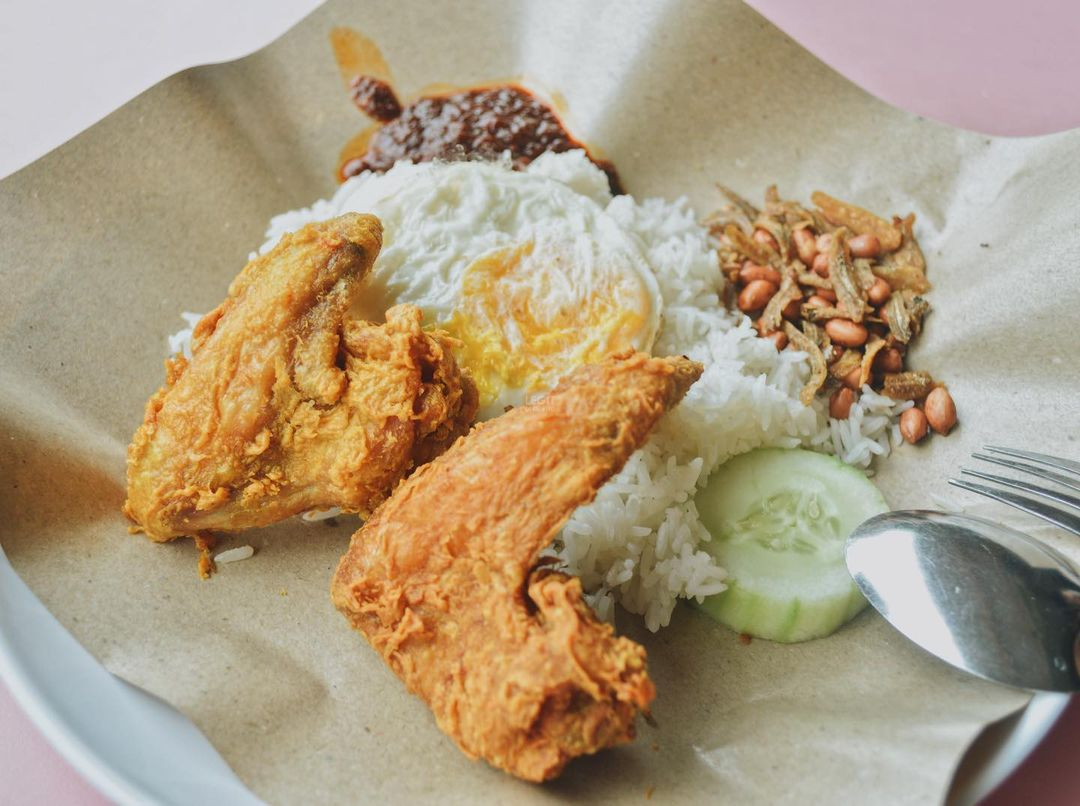 nasi lemak delivery - boon lay power