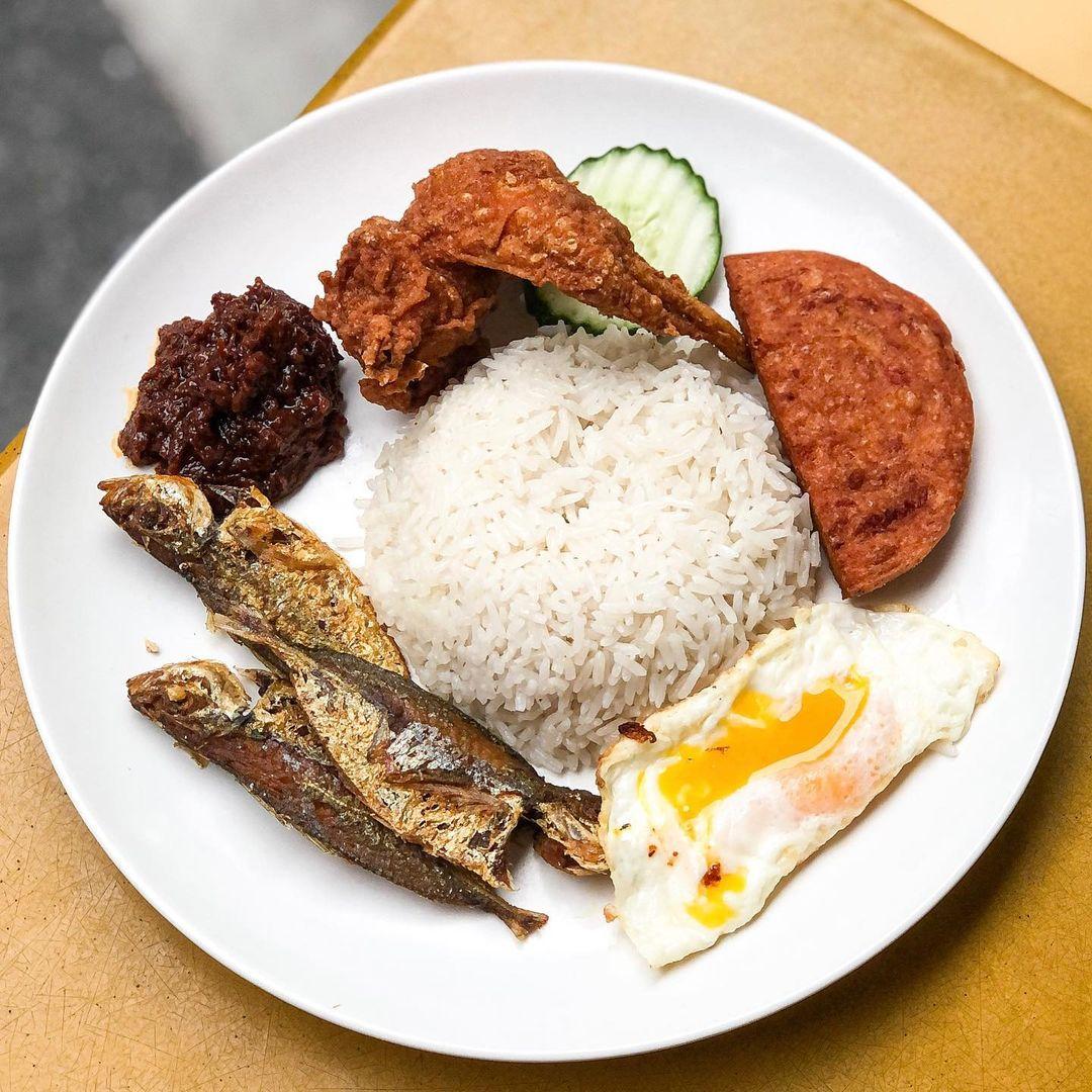 nasi lemak delivery - ponggol