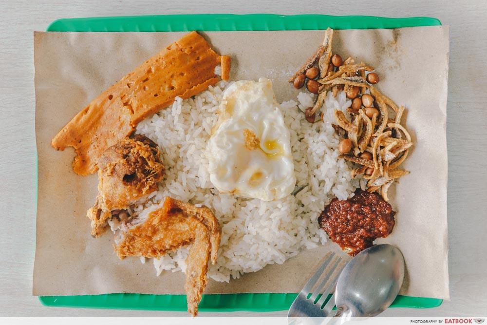 nasi lemak delivery - tree coconut