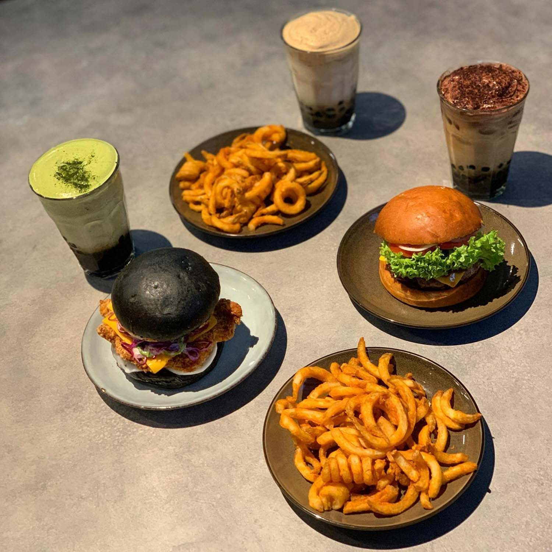 B Burger --4
