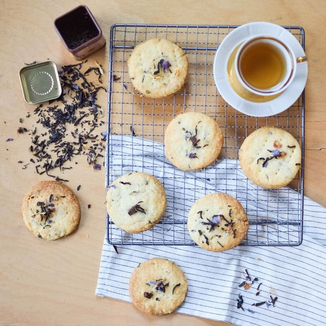 Cookie Recipes - Earl Grey Shortbread Cookies