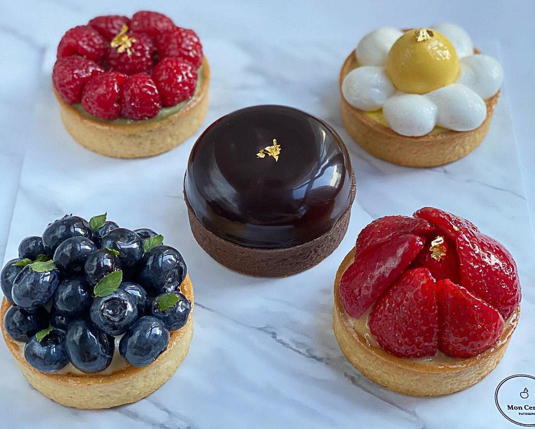 Dessert box delivery - Mon Cerise Patisserie